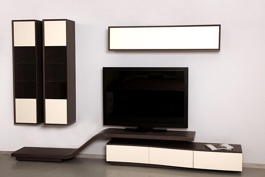 meuble tv aero arama mobilier. Black Bedroom Furniture Sets. Home Design Ideas