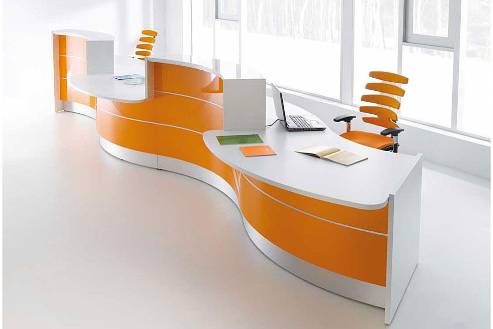 Comptoir de reception pour bureau en moldavie arama mobilier