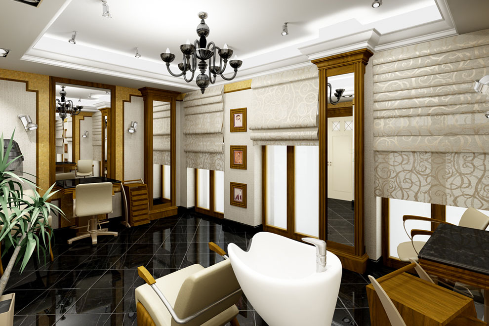 luxurious beauty salon furniture in chisinau